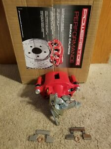 Power Stop Rear Red Caliper w/Bracket for 05-14 Ford Mustang - Right Rear Only