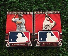 2010 TOPPS Baseball HTA LOGOMAN Complete Set 1-50 RUTH SILSER SPEAKER PUJOLS