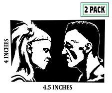2 PACK DIE ANTWOORD Stickers Vinyl Decal Ninja Yolandi Visser