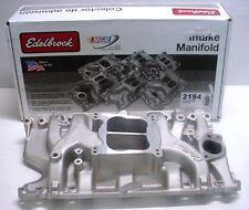 Holden 253 308  Edelbrock intake manifold rochester quadrajet carb holley ED2194
