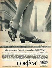 PUBLICITE ADVERTISING  1965   CORFAM   chaussures ROGER VIVIER