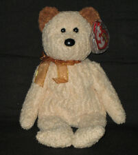 TY HUGGY the BEAR BEANIE BABY - MINT TAGS - RETIRED
