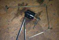 GAZ 69, Scheibenwischermechanismus (Halterung, Arme und Wischer) mit Motor
