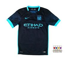 Manchester City 2015/16 Away Soccer Jersey Sergio Aguero Small Nike EPL