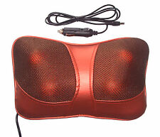 Car Home Pillow Lumbar Full body Massage Cushion Shiatsu Massager Remote YNE