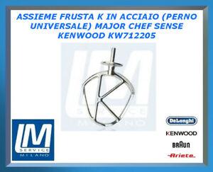 ASSIEME FRUSTA K IN ACCIAIO (PERNO UNIVERSALE) MAJOR CHEF SENSE KENWOOD KW711977