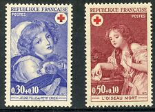 STAMP / TIMBRE FRANCE NEUF LUXE N° 1701/1702 ** CROIX ROUGE / ART