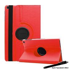 "Housse Etui Rouge pour Samsung Galaxy Tab S6 Lite 10.4"" P610 Support Rotatif"