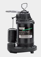 "New WAYNE CDU-800 Submersible Sump Pump 1/2 HP 120V 3900 GPH 1-1/2"" FPT Float"