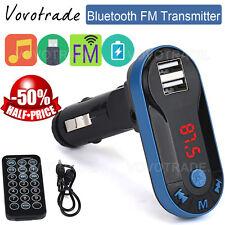Bluetooth Wireless FM Transmitter MP3 Player Handsfree Car Kit USB TF SD Remo RD