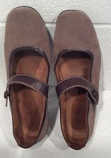 Natural Sole Naturalizer Mary Jane Shoes Slip On Strap Brown Taupe 10 M