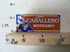 STICKER,DECAL CABALLERO YAMAHA MX-TEAM SUPPORTER MOTOCROSS CROSS B