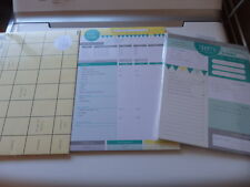 Budget Planner, Meal Planner, To Do List  NEW **Teriffic**