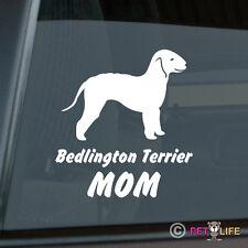 Bedlington Terrier Mom Sticker Die Cut Vinyl - rothbury