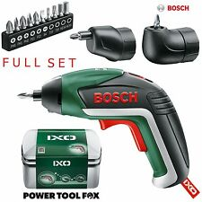 (FULLSET) Bosch IXO 5 Lithium Ion Cordless Cacciavite 06039A8072 3165140800051#