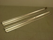 93-97 Mazda Mx6 Mx-6 LS M-edition Door Sill Trim Plates Aluminum Tan *B