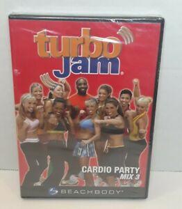Turbo Jam Cardio Party Mix 3 Chalene Johnson DVD 2007 Brand New Sealed Free Ship