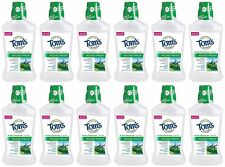 Tom's of Maine Wicked Fresh! Mouthwash Cool Mountain Mint 16 oz (Pack of 12)