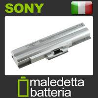 Batteria 10.8-11.1V 5200mAh per Sony Vaio VGN-FW21Z