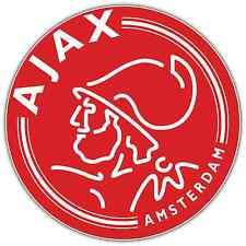 """Ajax FC Netherlands Football Soccer Car Bumper Sticker Decal 4.5""""X4.5"""""""
