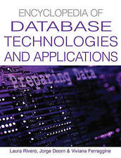 NEW Encyclopedia Of Database Technologies And Applications