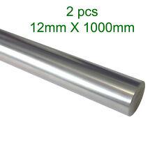 2pcs 12mm x 1000mm Precision Chromed Linear Shaft Rod for 3D printer CNC Oil