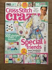 CROSS STITCH CRAZY MAGAZINE # 162 SOMEBUNNY BAGS EASTER PURSES MIRRORS BABY.