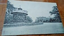 Bandstand  & House, Brockwell Park  Herne Hill nr Dulwich, PM Attleborough  1906