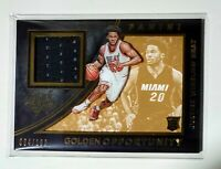 🔥 JUSTISE WINSLOW 2015-16 Panini Black and Gold Rookie Card 084/199 Relic