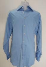 """Calvin Klein Men's Blue long sleeve high quality dress shirt. 32/33 & 16"""" neck"""