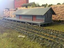 HO scale NSWGR G-4 Goods Shed based on Bombala (KIT) laser cut timber