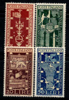 Italy 1949 Sass. 594-597 MNH 100% Venice Biennale of Art
