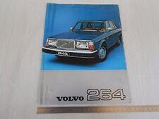 DEPLIANT ORIGINALE 1977 MONOPAGINA VOLVO 264 GLE