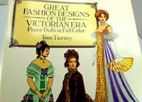 Dover Victorian Paper Dolls: Great Fashion Designs of the Victorian Era