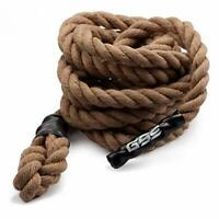 1.5-Inch Gym Workout Fitness Climbing Rope Exercise Battle Rope (6ft to 50ft)
