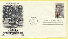 USA #2096 Smokey Bear Artcraft Variety PCS Forest Fires FDC Unadd 1984 LOT 763