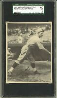 1929 R316 Kashin Publications CHARLES RED RUFFING Boston Red Sox HOF SGC EX 5