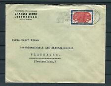 Bedarfsbrief Luxemburg Mi.-Nr. 539 EF nach Flensburg - b8106