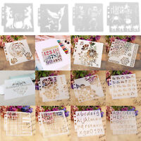 DIY Hollow Spray Stencil Template Album Coffee Cake Lacedraw Board Paint Decors