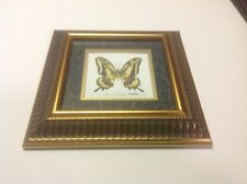Jerry Bishop Framed  Butterfly Print Signed Numbered 122/500