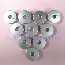 10 Aluminum Bobbins For Pfaff Domestic Sewing Machines #9033A