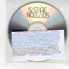"""(fu239) Savage Nomaden, Pinkie """"wenig Licht-DJ CD"""