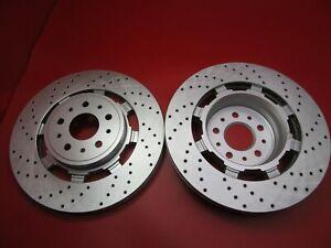 Maserati GranTurismo Gt front brake disc rotors TopEuro #195 set 2pcs