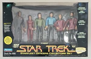 STAR TREK STARFLEET OFFICERS COLLECTORS SET CLASSIC SERIES NEXT GENERATION DS9