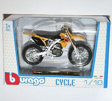 Burago - SUZUKI RM-Z450 Motorcycle Model Scale 1:18