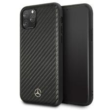 Mercedes Benz Dynamic Carbon iPhone 11 Pro SCHUTZHÜLLE Back Case Cover Schwarz