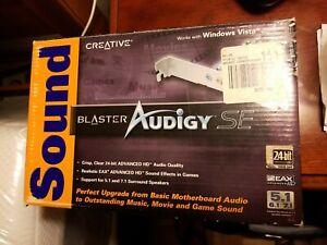 OEM NEW Sound Blaster Audigy SE Channel PCI Sound Audio Card 24 bit