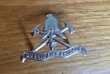 An old  Dublin Fire Brigade, cap badge.