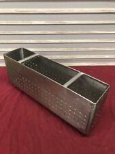 "24"" x 6"" Sink Strainer Scrap Basket #9182 Dish wash Stop Nsf Stainless Steel"