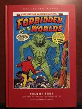 Forbidden Worlds Volume 4 Hardcover ACG PS Artbooks Collected Works Vol Four NM